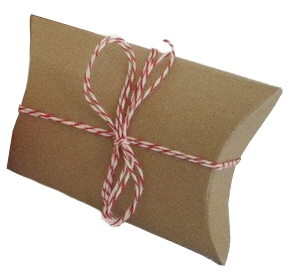 Bows and Ribbons - Add a little charm to brown paper packages and it doesn't get much easier than this. You can create an elegant wrap using 100% cotton string that can later be reused or go in the compost. Try adding some natural greenery or holly berries.You can also reuse conventional holiday bows and ribbon year after year. But when they can no longer be reused, they go into the landfill. According to Stanford University Recycling, if every family reused just two feet of holiday ribbon, the 38,000 miles of ribbon saved could tie a bow around the entire planet!