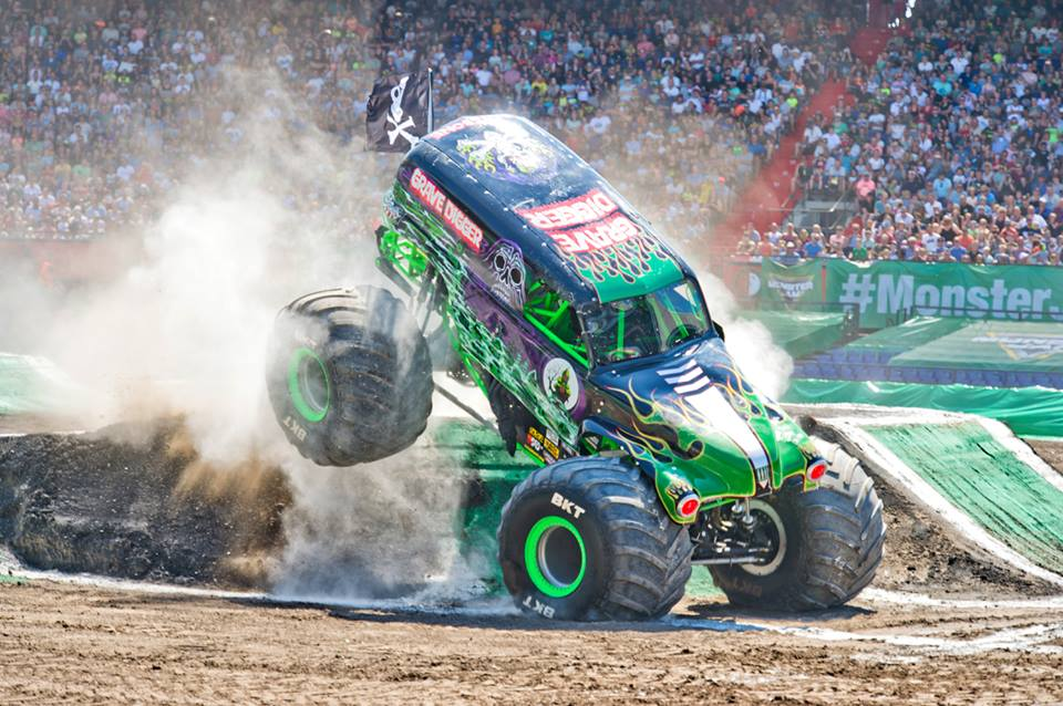 Monster Jam Ronnie S Awesome List