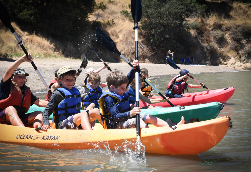 Bay - Befriend the beaches and the water. Moving at times on foot in search of tracks in the sand and at times by kayak learning the ways of the water and the wind. Vilda's Bay theme includes the following camps: