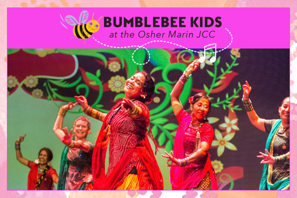 Family Fun! Stories & Colors of India - Sun, April 28, 2019 11:00 amIt's a Bollywood Dance Party! Bumblebee Kids is thrilled to welcome Dholrhythms Dance Company in a Colors of India experience. Explore in a colorful, interactive performance, the artistic and cultural heritage of India through vibrant stories, colors and dances. Learn a few easy Bollywood-style (Bhangra dance) steps, and then join the performers and bust out your moves on the dance floor!