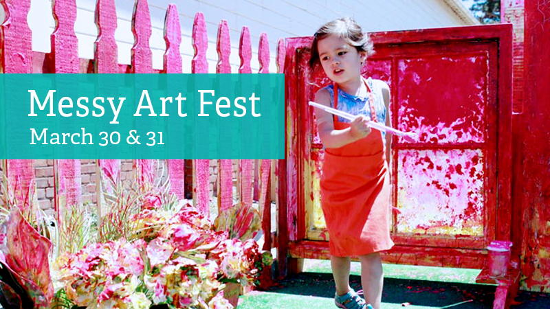 Messy Art Fest - The Bay Area Discovery Museum will transform into a blank canvas to create, paint, dance, and more! Push the limits of arts and crafts at this weekend-long, creative festival, with programs like:Mural Dance PartyPainting GalleryAl Fresco WatercolorSpray Bottle PaintingRainbow SlimeSand ArtScribble BotsPaper MarblingAnd More!