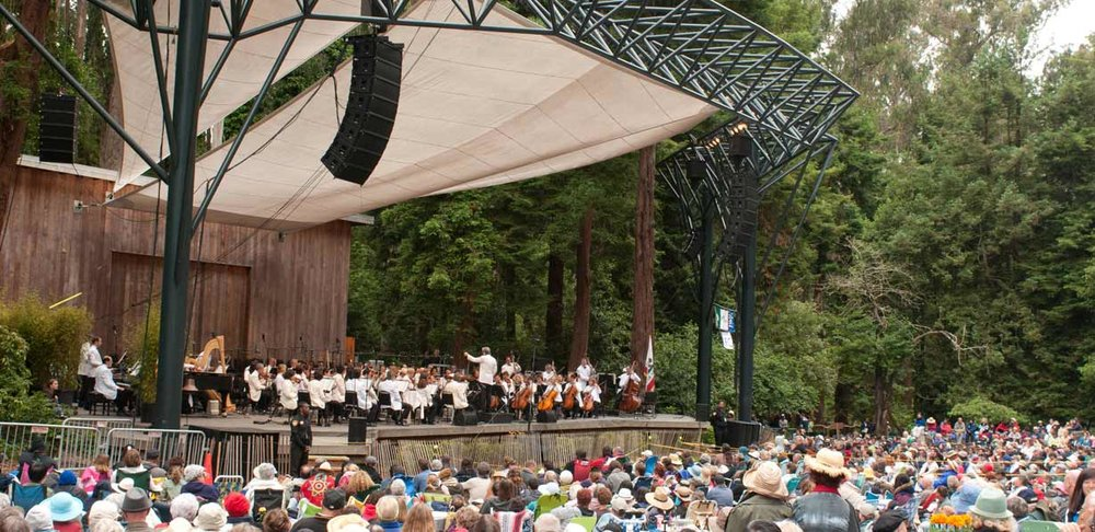 July 7 - The San Francisco Symphony (SFS) returns for its annual summer performance at Stern Grove Festival. Led by conductor Edwin Outwater and featuring contralto Lauren Decker, the SFS performs a selection of classical favorites.ARTIST TALKS: San Francisco Symphony Artistic Administrator James Utz interviewing conductor Edwin OutwaterKIDSTAGE: Percussion demo/workshop with Rising Rhythm