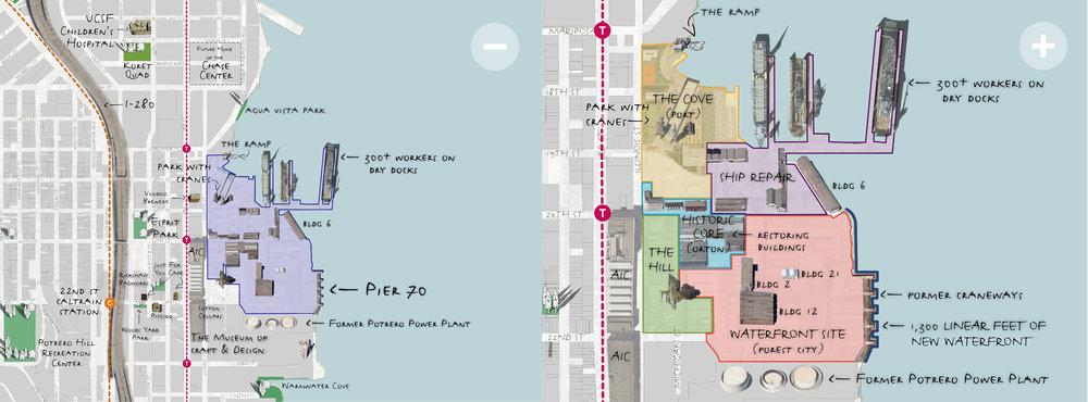 170227Pier70Neighborhood and Project Combined 01jpg Context u2014 Pier