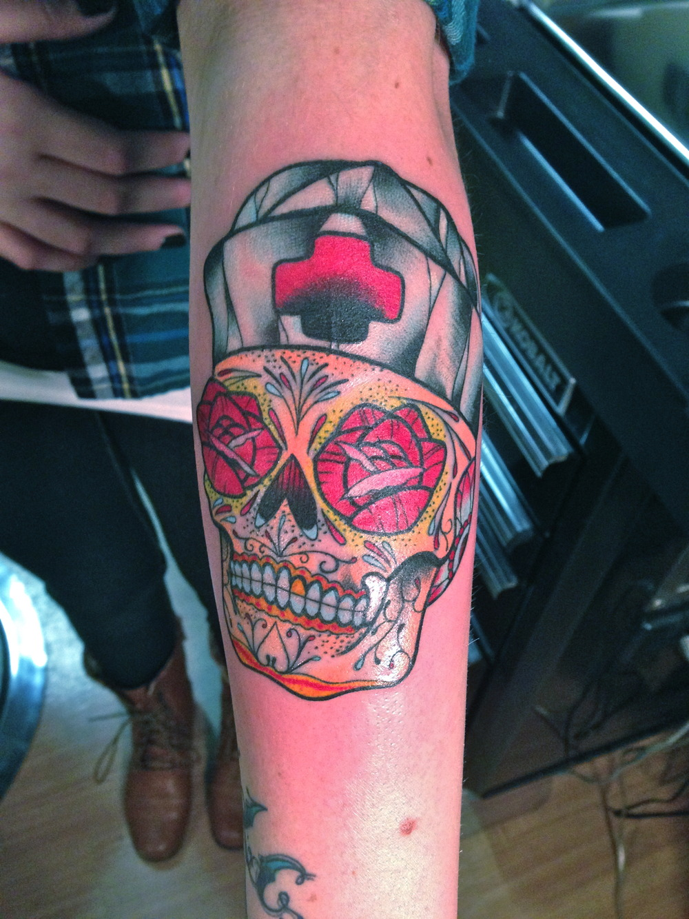 charles denise revolver tattoo