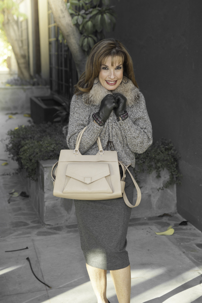 Davide Cenci  Gloves,  Brunello Cucinelli Sweater ,  Proenza Schouler Handbag
