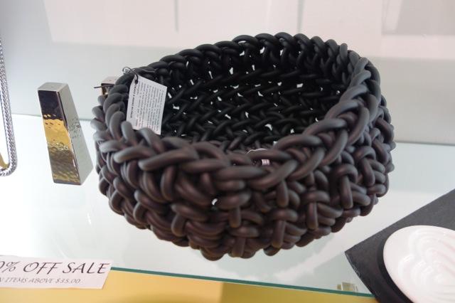 Neoprene Basket from Italy $150