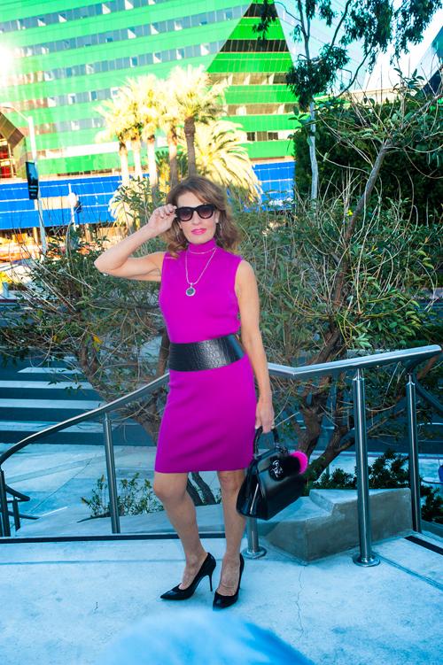 Ralph Lauren Dress, Mantu Jacket, John Hardy Necklace, Michael Kors Belt, Gucci Handbag, Pomwum Charms (contact pomwum@gmail.com to order), Christian Dior Heels.