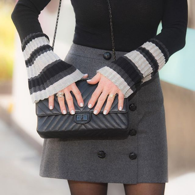 Bell sleeves are a fab accessory...of course so is a fab bag! #fashionisart #bellsleeves #chanelhandbag #accessorize #fblogger #fabulousafter50 #stylepost #aboutalook #outfitinspo #fashionista