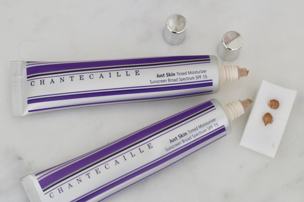 Chantecaille Tinted Moisturizer in Wheat and Tan
