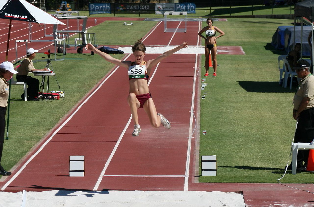 Casidhe Crane Simmons - Athletics 2012