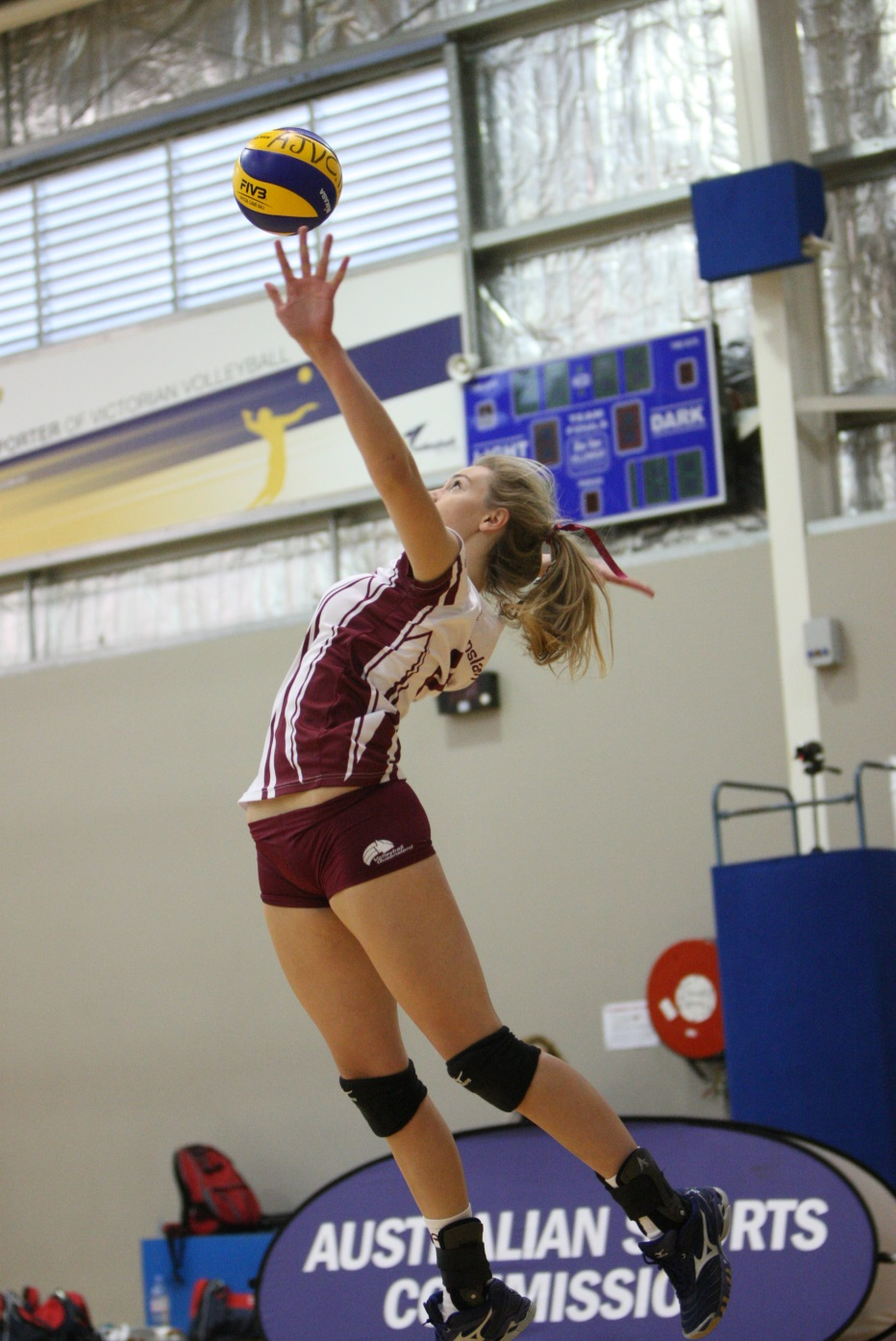 Emily Haines - Volleyball 2013