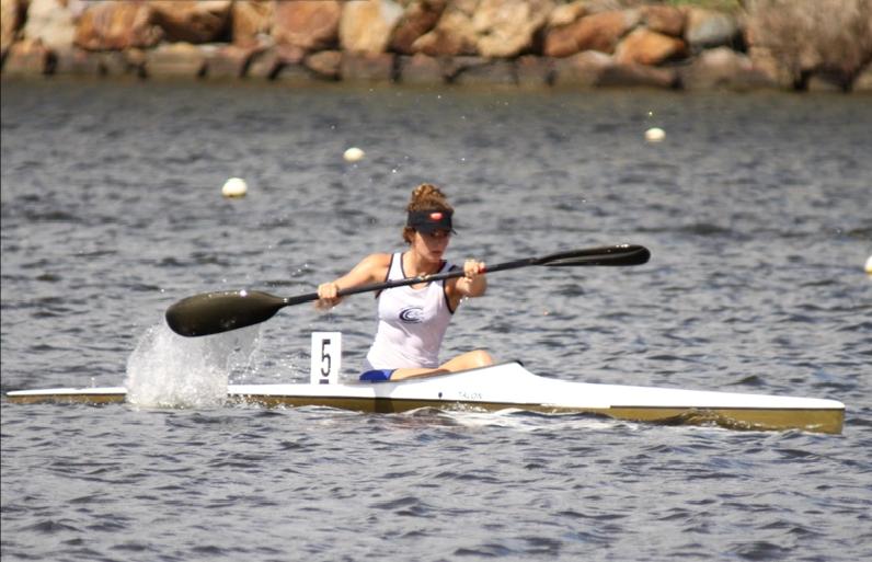 Rebecca Degnian - Kayaking 2011