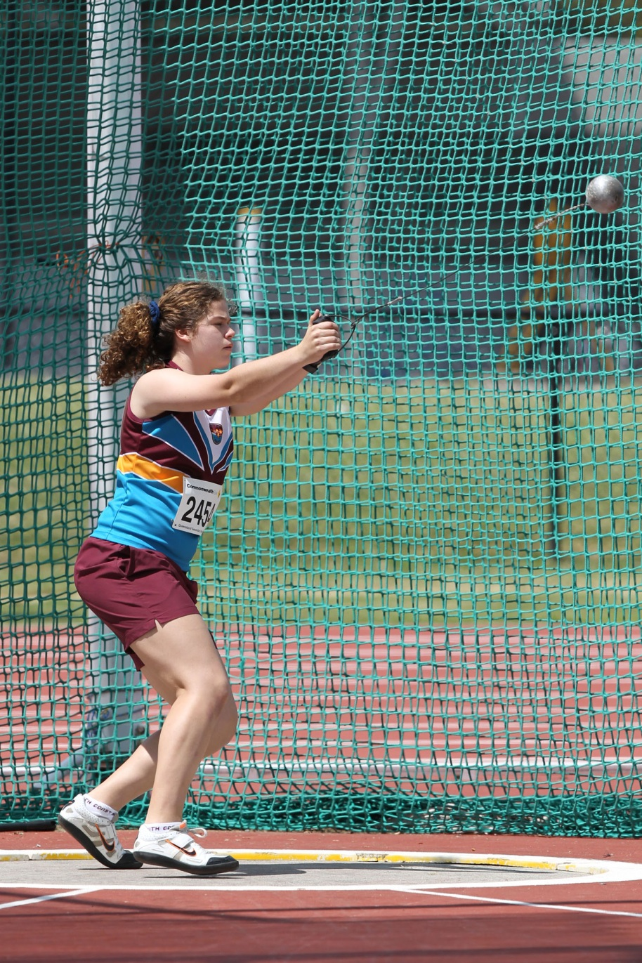 Ellen Scott-Young - Athletics 2012