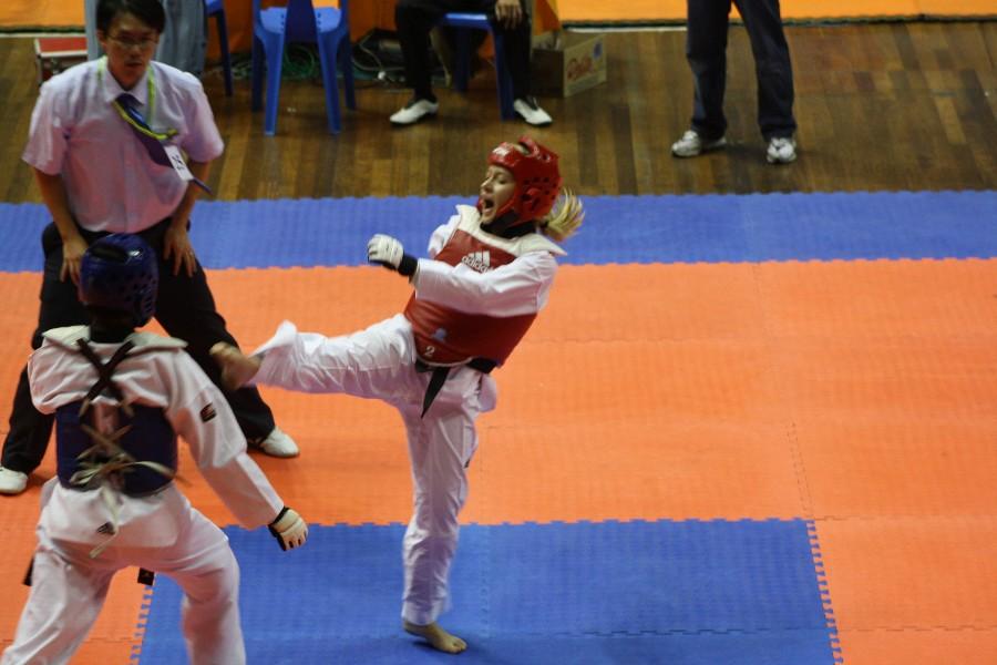 Elouise Dempsey - Taekwondo 2009