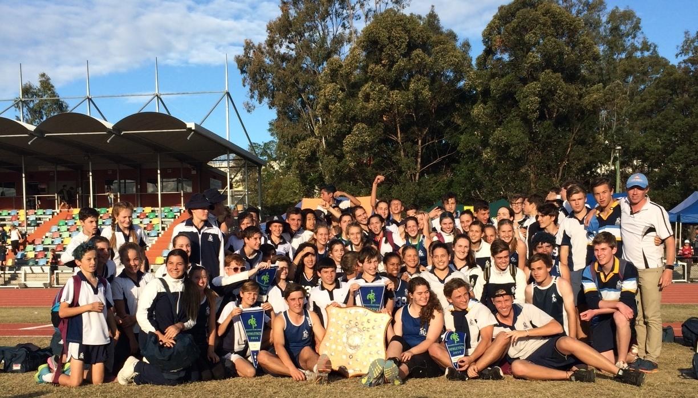 Emmanuel Senior School Athletics team claims APS Title!