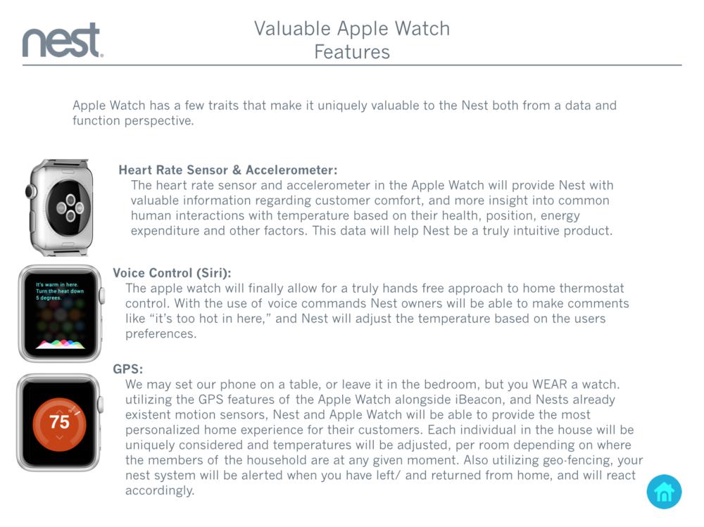 Nest - Apple Watch App Concept \u0026 UX \u2014 Ardent Fellow