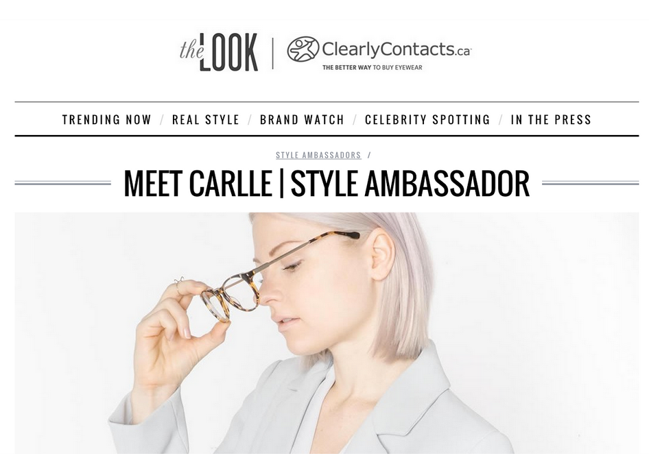 Clearly Contacts blogger collaboration