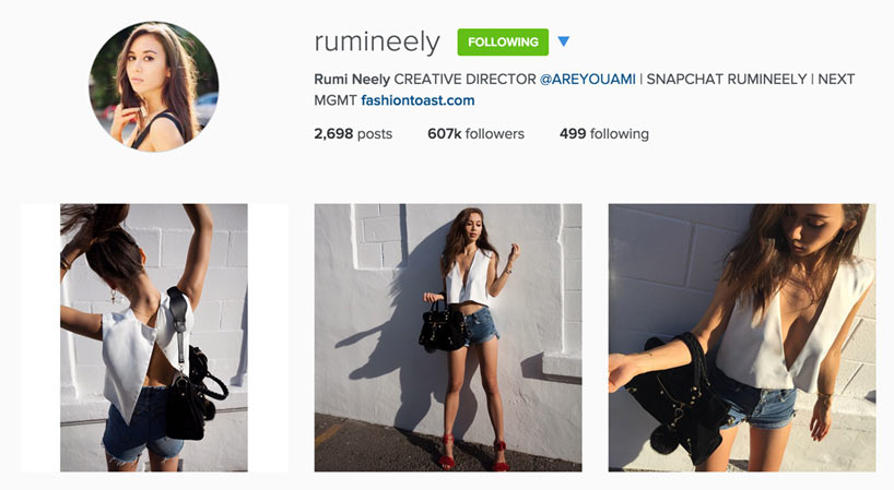 Edgy Style Blogger - Rumi Neely