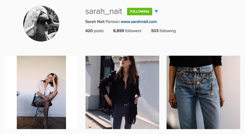 Edgy Style Blogger - Sarah Nait