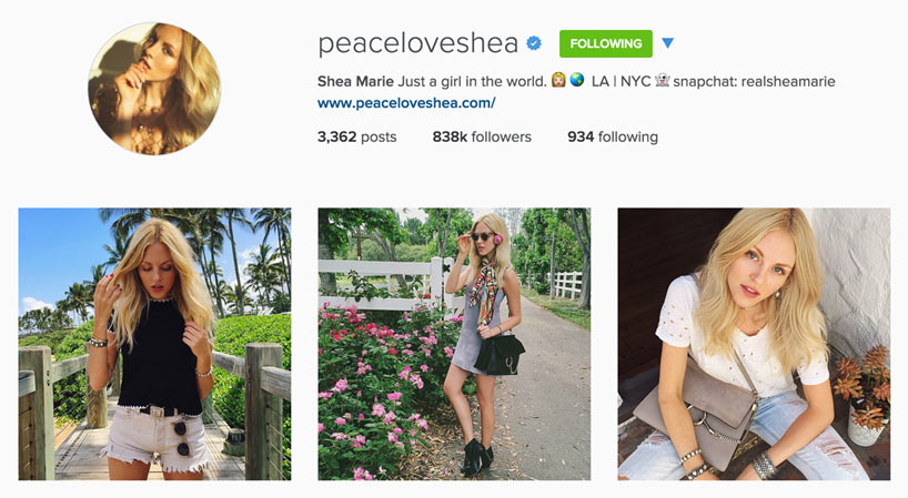 Edgy Style Blogger - Peace Love Shea
