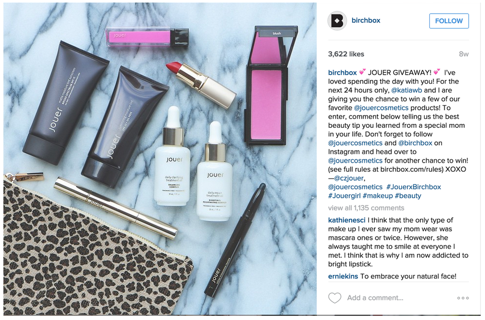 Birchbox Instagram Takeover