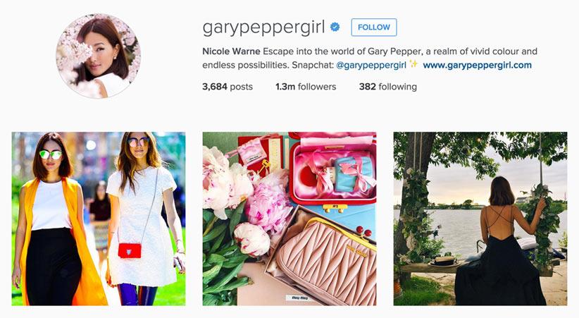 Gary Pepper Girl style blogger