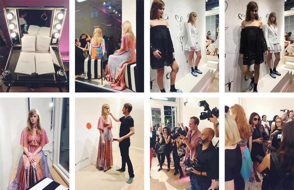 Nanette Lepore's Presentation covered by Caroline Volz on Style Squad.