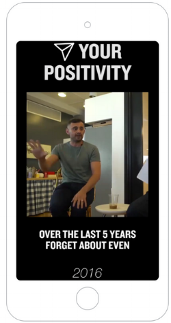 Gary Vee's first videos published to IGTV included repurposed content.