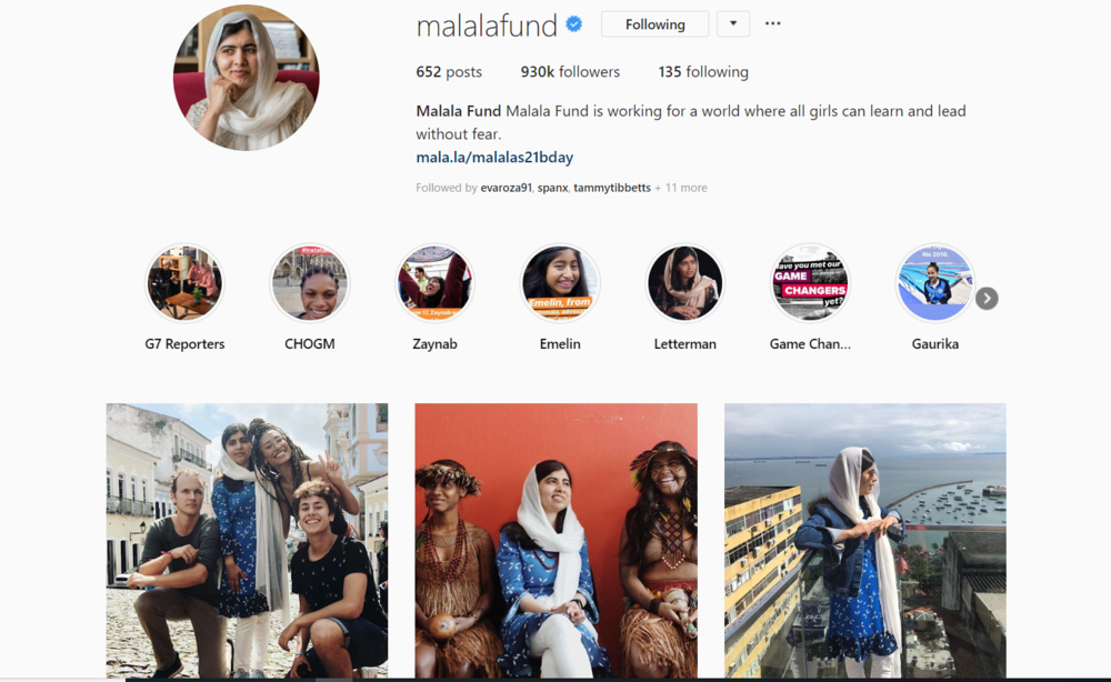 Malala Fund - Gen Z Influencer Roundup - The Shelf.png