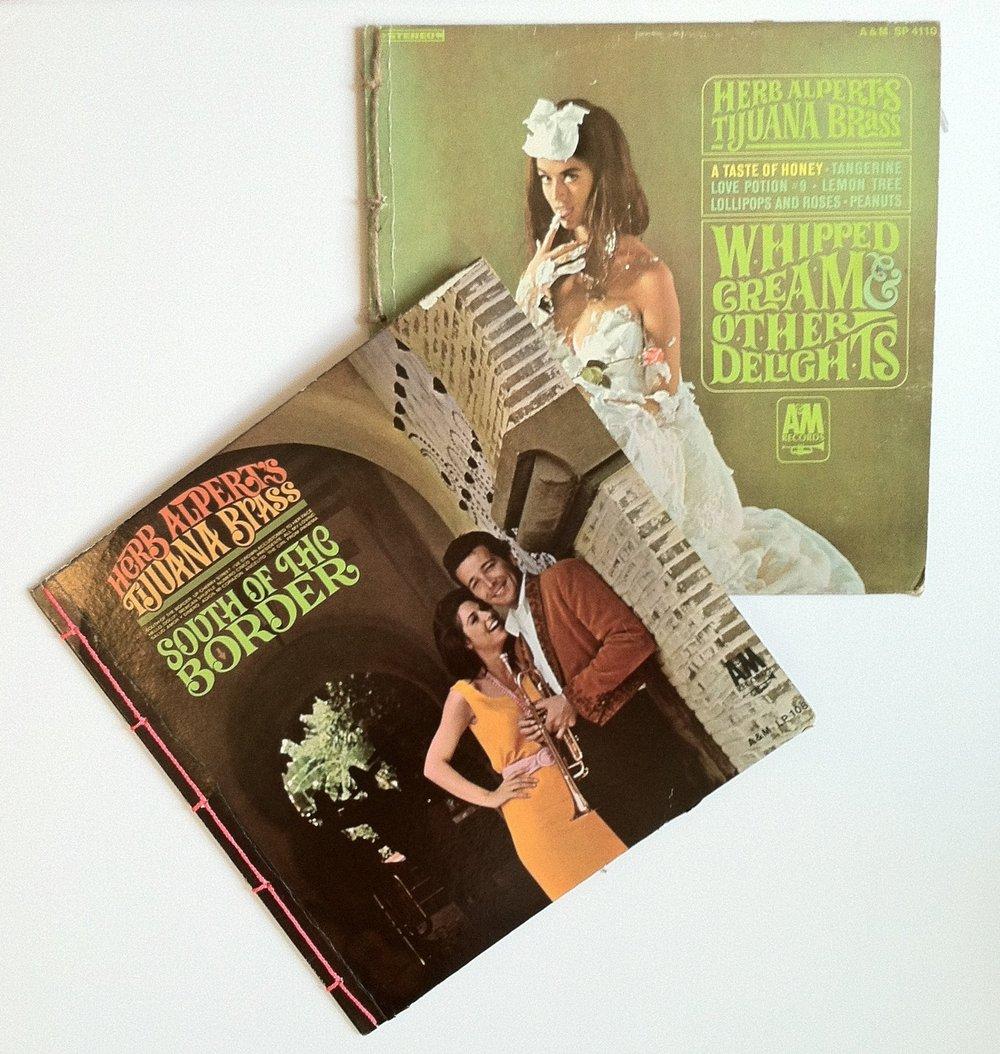 Herb Alpert Zines | Ten Other Delights (top) and Herb Alpert. Artist. (below), both 2017
