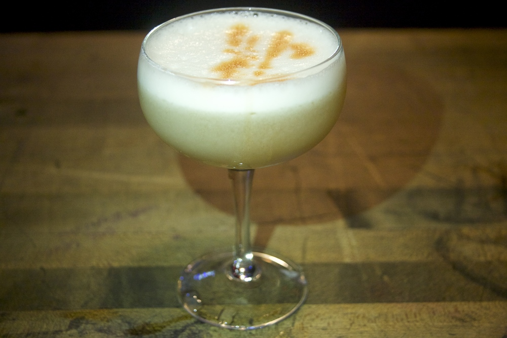 Whiskey Sour w/ Egg White