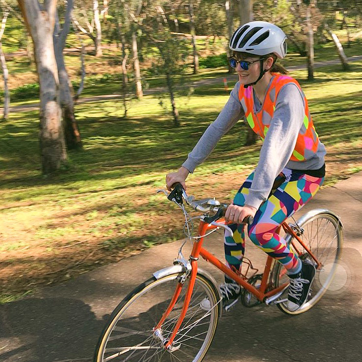 seen_cycling river torrens_fashionable high visibility wear_fashionable high vis jacket_raindrops reflective top.jpg