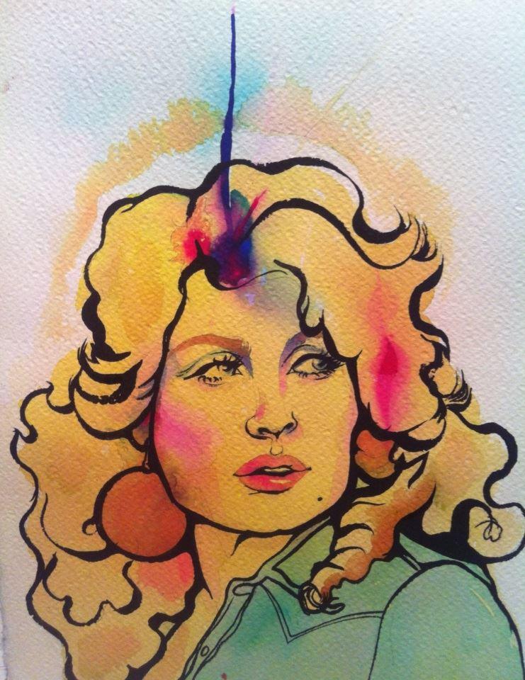 Vintage Dolly Parton.