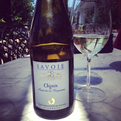 Jean-Francois Quenard, Chignin, Savoie, France wine