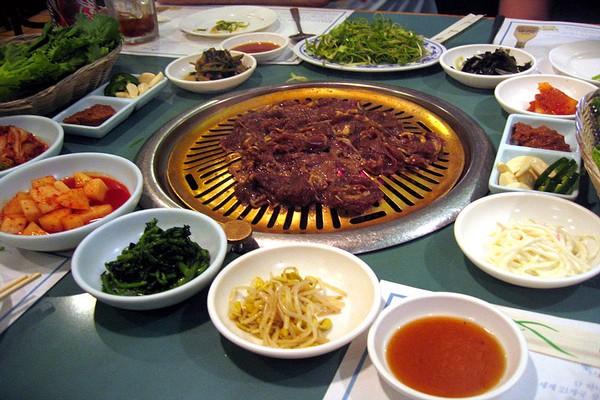 wine pairing with korean food