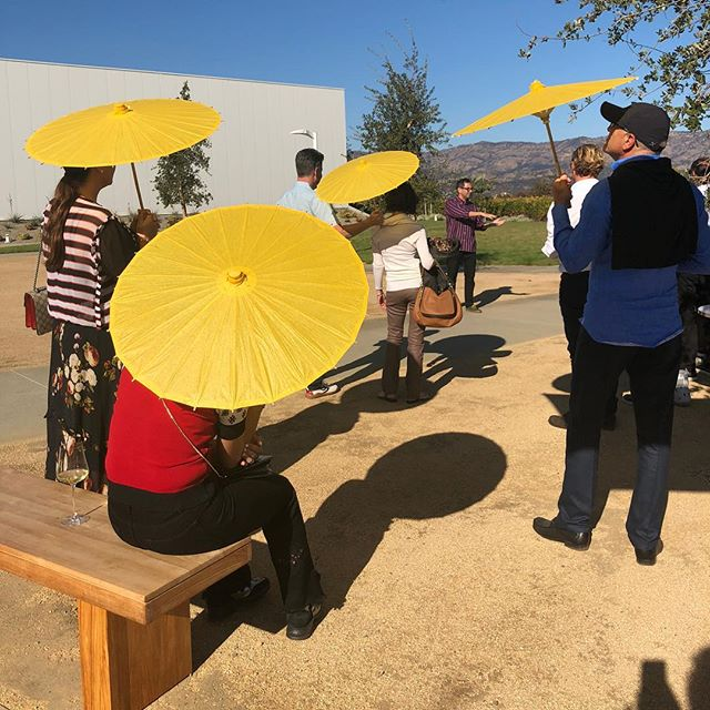 Picture perfect parasol filled day last week for our clients. Special thanks to Kashy for participating on our panel and sharing his wisdom and to Lauren, Emma, and Connor (and team) for the lovely hospitality! #tbt #nofilter