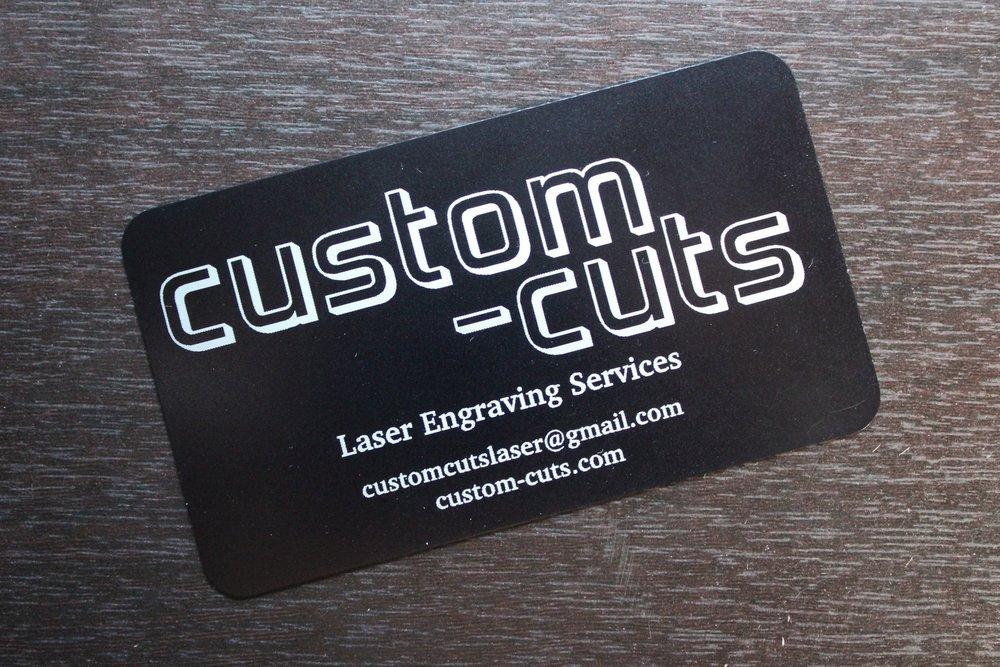 Cards — Custom-Cuts