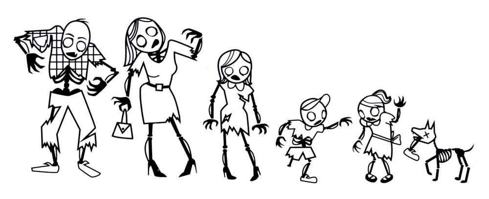 Zombie-Family