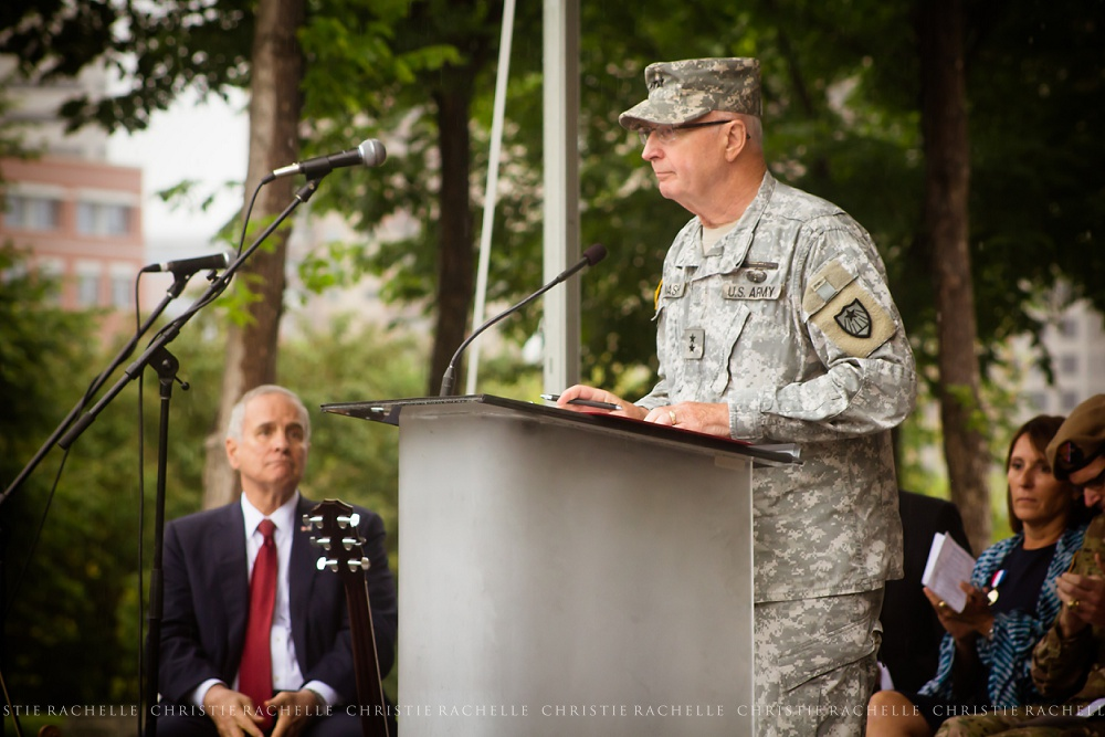 General Richard C. Nash, Adjutant General, Minnesota National Guard