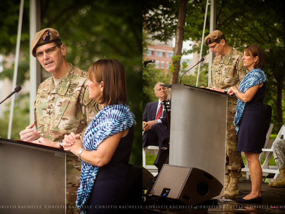 General Joseph Votel and Michelle Votel, Commanding General, US Special Operations