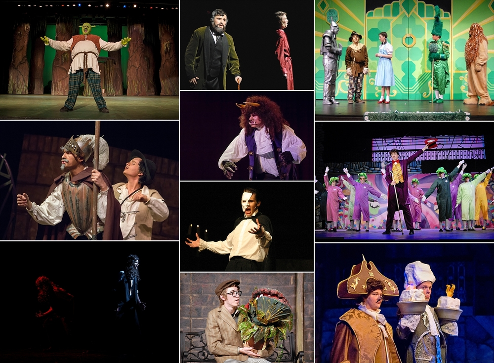 Imagine if the spring musical had been cut in the past.  Which of these amazing shows would you have missed?   - Shrek   - Man of La Mancha   - Jekyll & Hyde   - The Secret Garden   - Beauty and the Beast (2x)   - Phantom   - Little Shop of Horrors   - Willy Wonka   - The Wizard of Oz