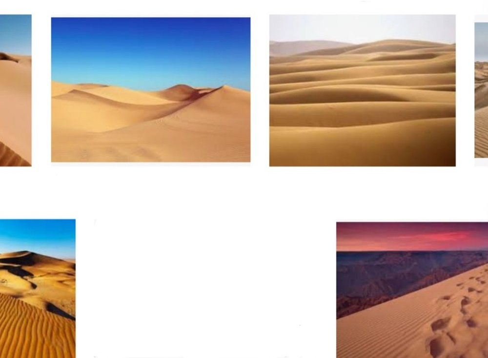 smooth dunes