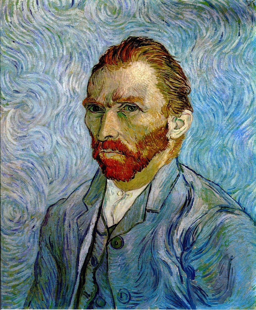 Self Portrait by Vincent van Gogh 1889