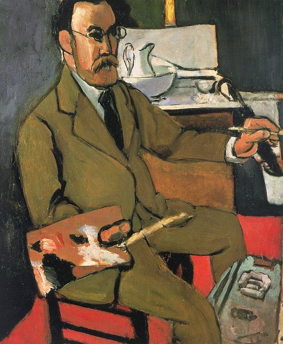 Self-Portrait by  Henri Matisse 1918