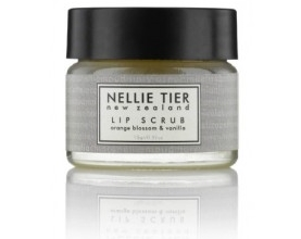 I would recommend the  Nellie Tier Lip Scrub .