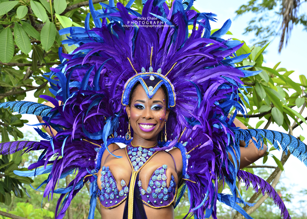 Teresa Costume Shoot..Kadooment Day