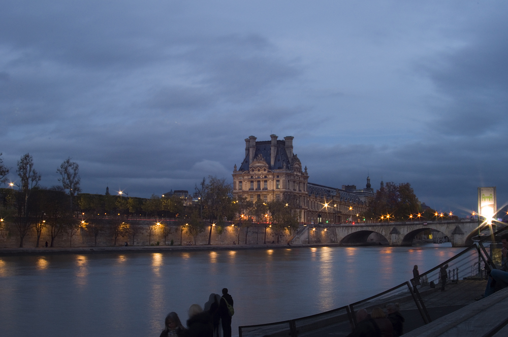 Louvre and Seine