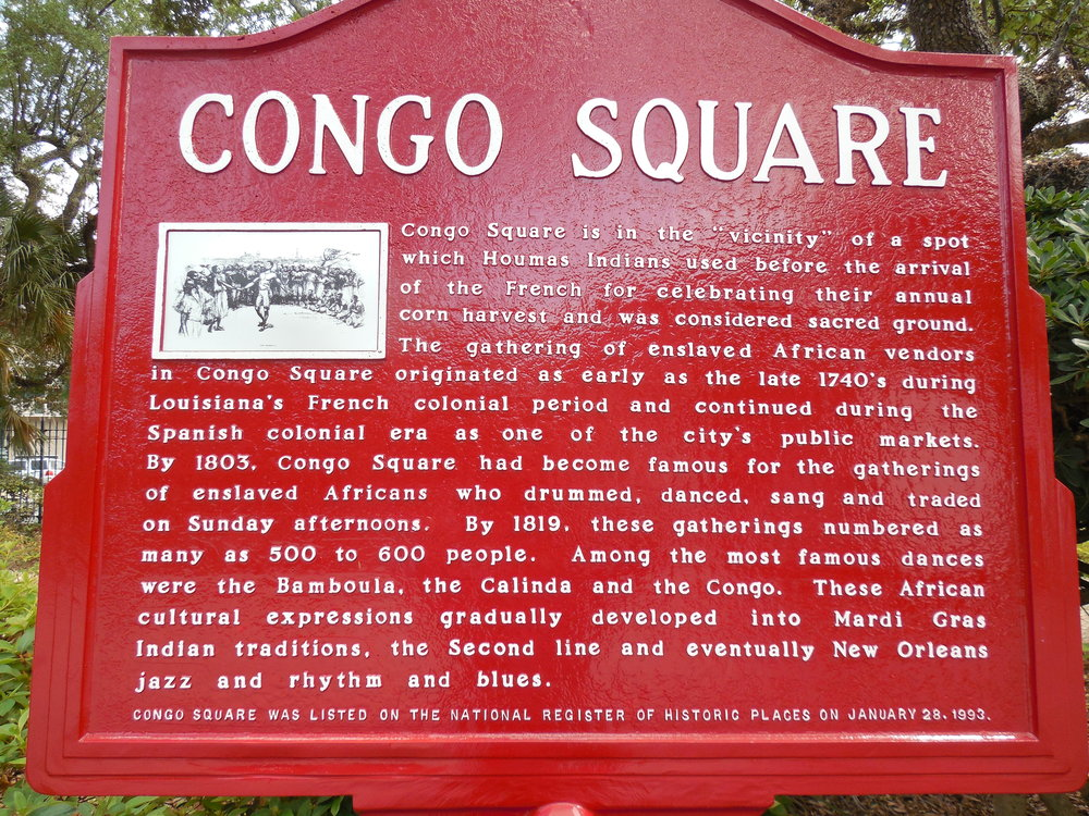 CC New Orleans, Congo Square