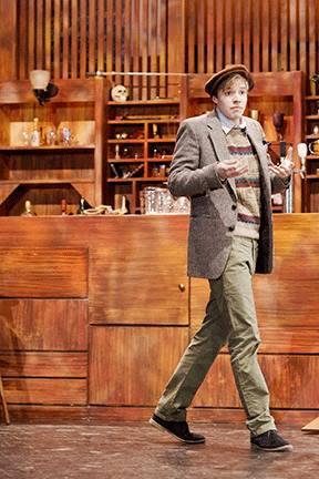 Will King as Sebastian in Twelfth Night