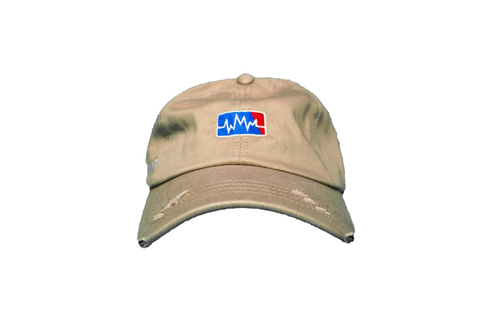 79749befa7f MLWM Dad Hat  Khaki  — WiseMindMovement